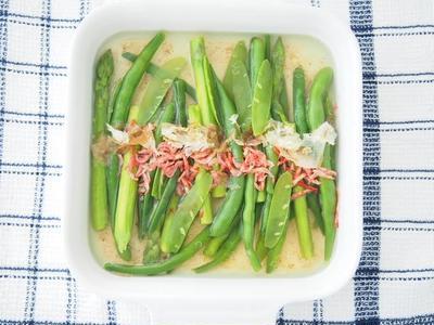 春野菜と桜エビの食べるお浸し