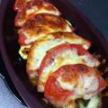 【レシピ】トマトと根菜のチーズ焼き