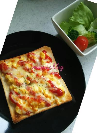 ☆スクランブルチーズトースト☆