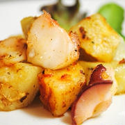 簡単シンプルで美味♪風味豊かなオリーブオイルと柔らかいたこが合う〜♪たこのスペイン(ガリシア)風