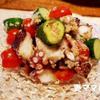 タコのアンチョビ風味サラダ