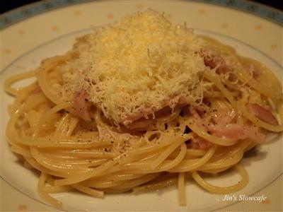 スパゲッティー カルボナーラ