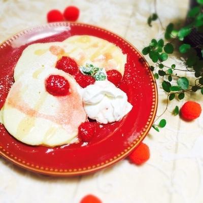 ふわっ♡しゅわ〜♡なパンケーキ
