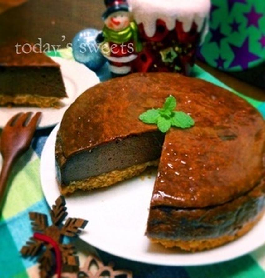 バレンタインにいかが?チョコレートチーズケーキのおすすめレシピ♪