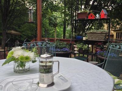 プレーンサブレとココア・アーモンドサブレ & 今日の庭の様子