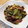 サニーレタス大量消費!〈第1弾〉サニーレタスの韓国風サラダ