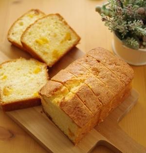 ドライマンゴーのパウンド☆パウンドケーキアレンジ