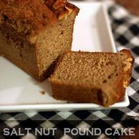 カルーアとソルトナッツのパウンドケーキ