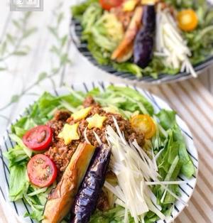 【レシピ】野菜たっぷりジャージャー麺