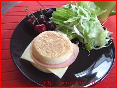 今日の母さんの朝ごパン