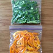使うときは凍ったまま!野菜をムダにしない簡単保存。
