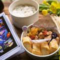 「タイ料理ガイガパオ風&玉子焼き弁当」deゆーたんのランチ