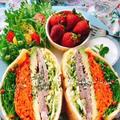 【レシピ動画】蒸し豚の油揚げサンド