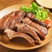 豚バックリブの柔らかオーブン焼き、身離れ抜群!圧力鍋で簡単下処理