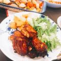 韓国風BBQ スペアリブのロースト