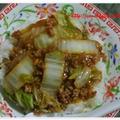 冷蔵庫お掃除簡単麻婆白菜と春野菜の魚焼きグリル焼♪ by kewpieさん