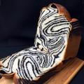 ブラックココアの折り込みシートで、マーブル食パン