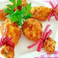 ジューシーフライドチキン♪クリスマスパーティーに作りたい簡単おもてなしレシピ!なんちゃってKFC風 by みぃさん