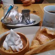母と梅田でお茶