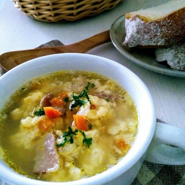 保育園の調理師さんからざっくり教えてもらったレシピ〜たまごのふわふわスープ〜
