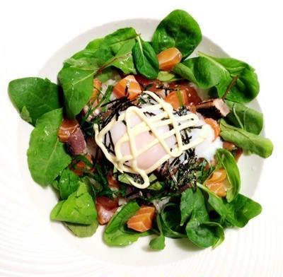 海鮮寿司のサラダ仕立て