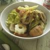 おでん種とキャベツのカレー風味煮