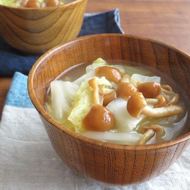 なめこ の 味噌汁 の 作り方