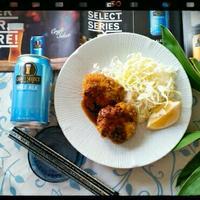 ✿春キャベツメンチと今日のビール!SUNTORY CRAFT SELECT PALE ALE✿
