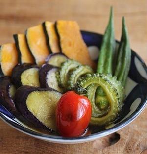 簡単♪いろいろ夏野菜のさっぱり焼き浸し