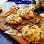 ♡HMで作る♪サクザク食感チョコチップクッキー♡【コーンフレーク*粉糖*ホットケーキミックス】