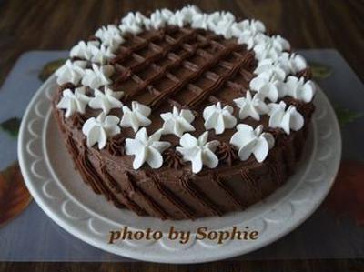 チョコレート・パンプキン・レイヤーケーキのレシピ