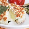 しっとり♪チーズ in 豆腐ハンバーグときゅうりの漬け物、昼食会