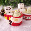 陶器の器でとろとろプリン☆Suipa.の容器モニター「抱きつきサンタ」&「オーバルカップ フローラ」