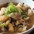 麺つゆとレンチンで!豚バラと玉ねぎと薄あげの煮物