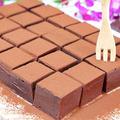 板チョコと生クリームで作る基本の生チョコレート