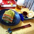 豚肉とキャベツ・白菜の重ね蒸し ~ 柚子でいただく♪ by mayumiたんさん