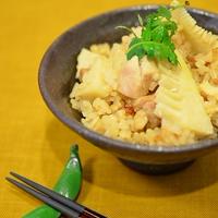 旬菜♪春菜!白だし醤油で絶品、筍ご飯