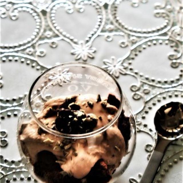 ヌテラでカップデザート
