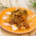 ストライクなモニター品♪ やみつき!豚肉と白菜のハリッサ炒め