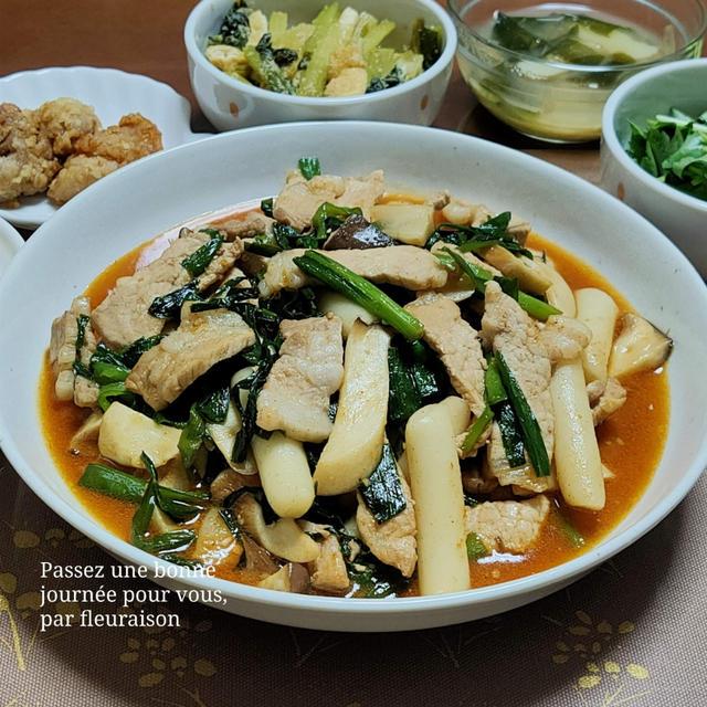 ◆フーディーテーブル◆モランボン 韓の食菜「豚カルビ」で、満足おかず