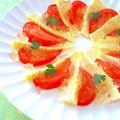 筍とトマトの彩りカルパッチョ♪柚子胡椒ジュレのせ by みぃさん