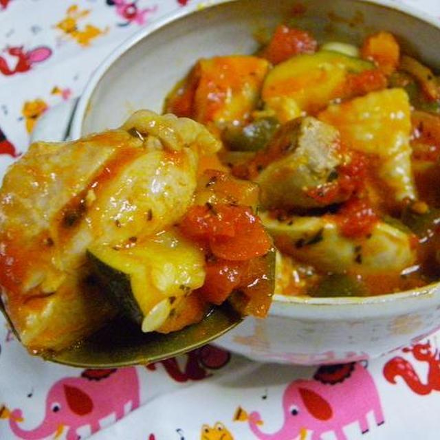 鶏肉と野菜の夏煮込み