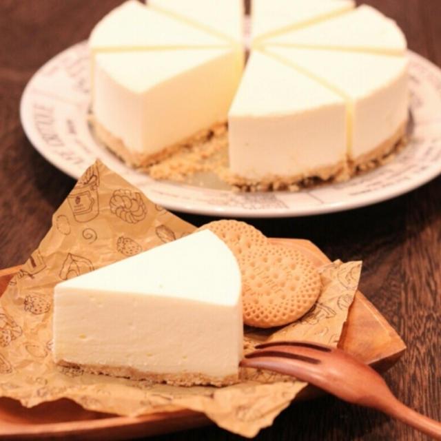 甘カフェ☆カルピスチーズケーキ(レシピ)
