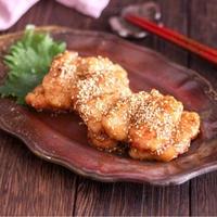 冷めても美味しい〜。鶏むね肉の甘辛唐揚げ 【#食材1品 #お弁当 にもおススメ!】