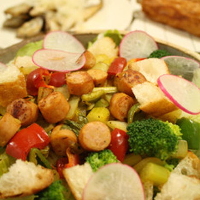 ボリュームサラダ 食べる根菜スープ