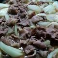 自宅で簡単にお店の味を!!すき屋風牛丼(^O^)