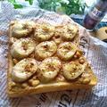 スパイスアンバサダー♪ピーナッツバターとバナナのシナモントースト