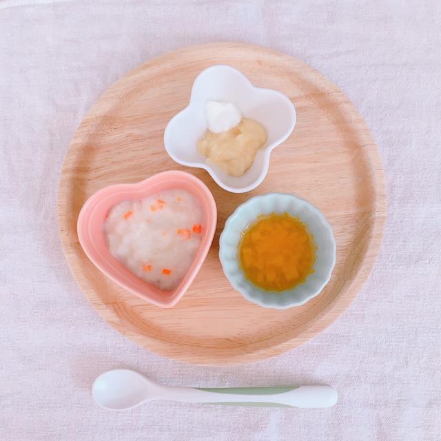 【離乳食レシピ】お野菜とミルクパンがゆ