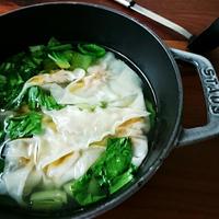 【モニター】シャンタンでワンタン鍋