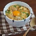 ふわとろ卵とやわらか鶏肉のリゾット風 親子丼